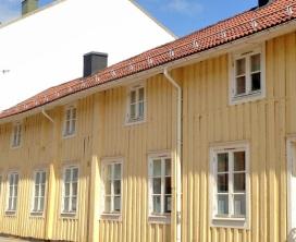 Ett lutande hus