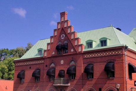 Sparbankshuset 1898 Nygotik med inslag av Renässans.